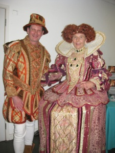 The Earl of Southampton and Queen Elizabeth I