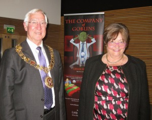 The Right Worshipful the Mayor and Mayoress of Winchester, Cllr Ernie Jeffs and Mrs Barbara Jeffs