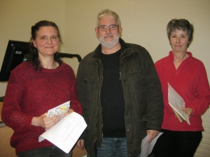 Feb 14 Nikki Wakefield Mike Rawlins Anne Eckersley