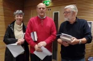 Anne Eckersley, David Eadsforth & David Lea