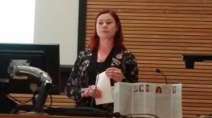 Angela Speaking at HWS